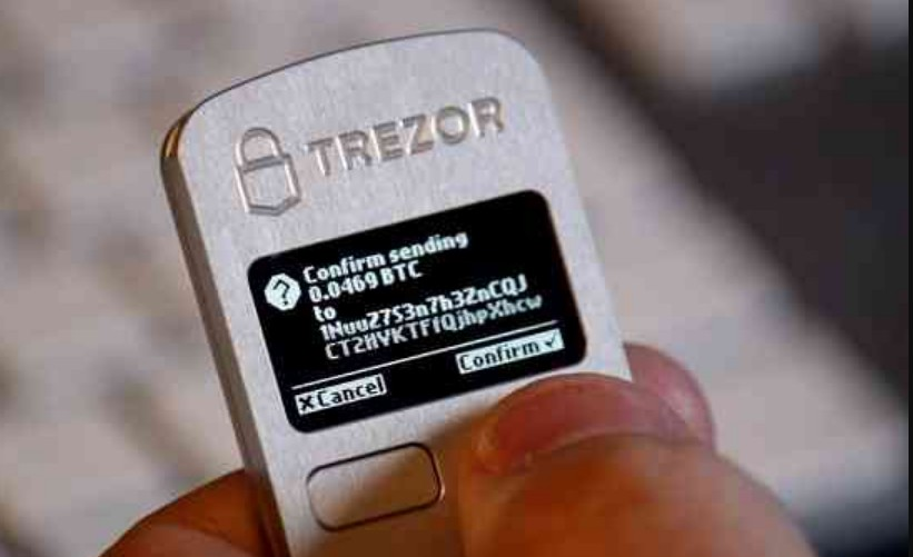 Bitcoin wallet provider trezor