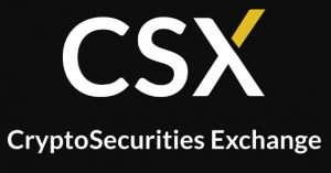 crypto securities exchange logo