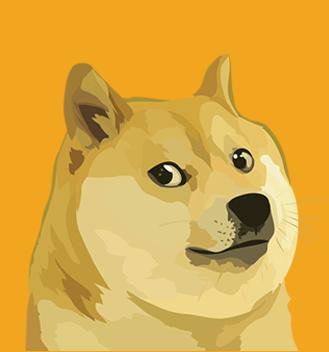 shiba inu mascot logo